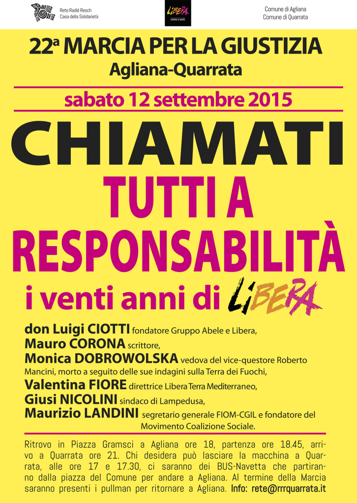 manifesto marcia 2015