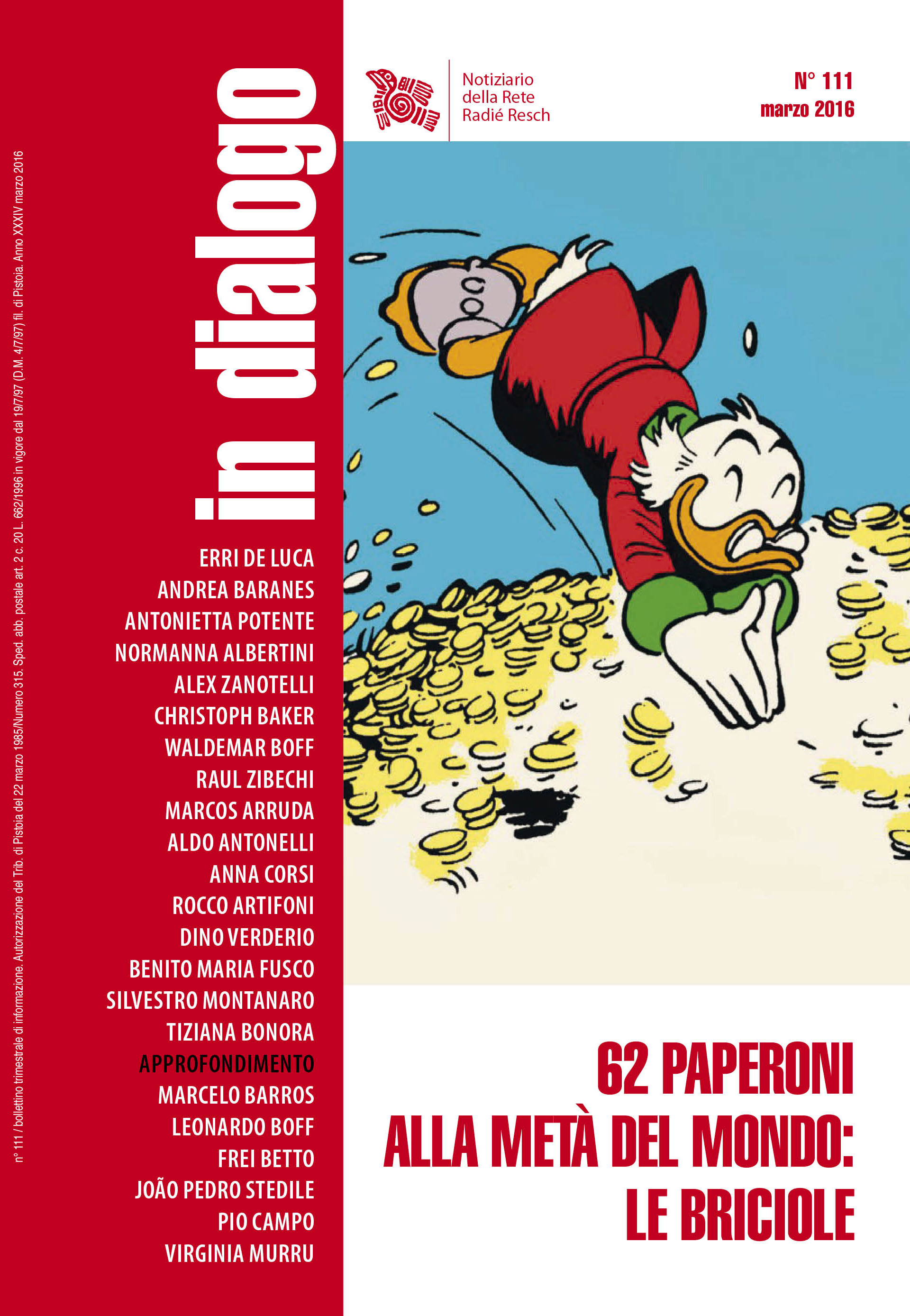 rete 111 - copertina