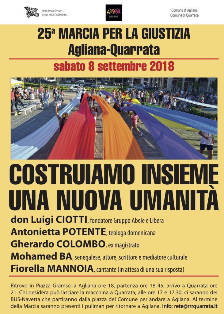 manifesto marcia 2018