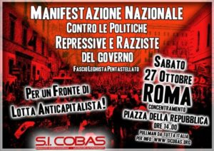 Decreto-Salvini: regali a padroni e mafiosi, bastonate per chi lotta