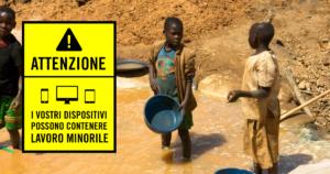 Fermiamo il lavoro minorile nelle miniere di cobalto del Congo